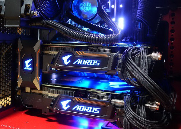 SLI Aorus Extreme GTX1080Ti