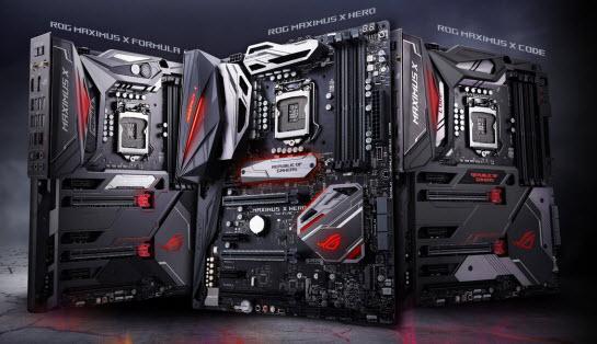 Asus ROG Maximus X-Series