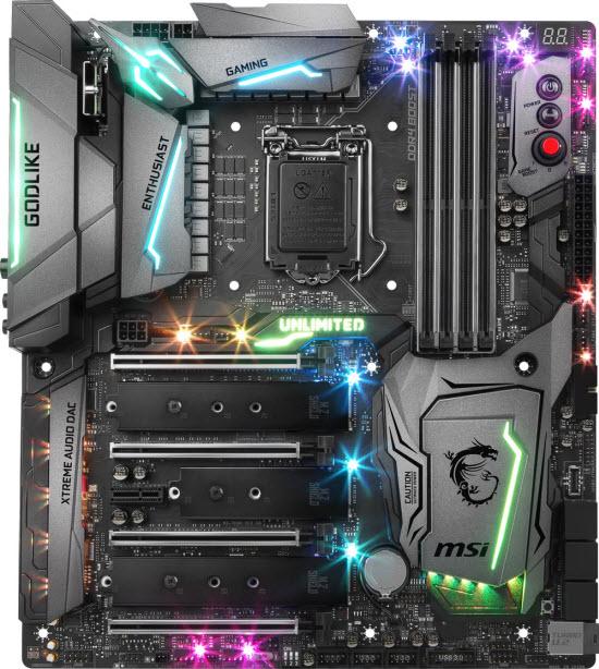 MSI Z370 Godlike Gaming